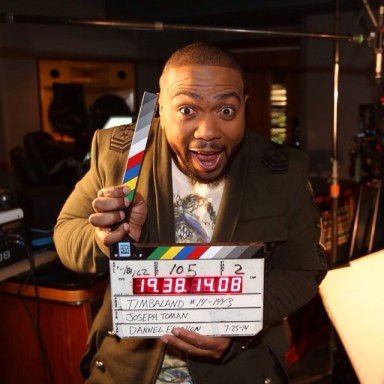 Open Labs image for Timbaland commercial shoot