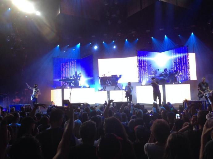 Stagelight Linkin Park Concert